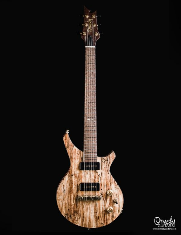 CustomShop - Damascus Spalted Maple