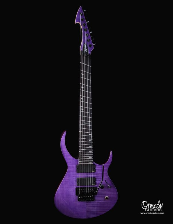Artist Series Rusty Cooley RC-One GTR - Purple Flame Maple